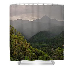The Thunder Rolls Shower Curtain
