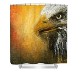 The Totem Shower Curtain by Jane See