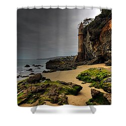 The Tower At Laguna Shower Curtain