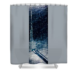 The Tower Of Ice Shadows Shower Curtain