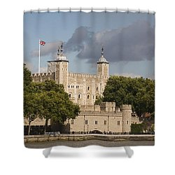 The Tower Of London. Shower Curtain