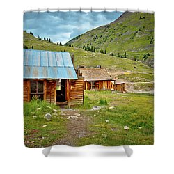 The Town Of Animas Forks Shower Curtain