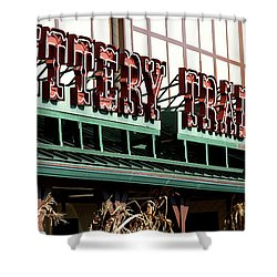 The Trading Post.  Shower Curtain