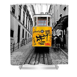 The Tram Shower Curtain