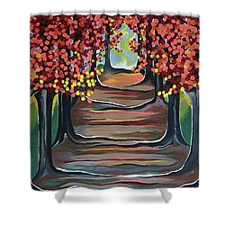 The Tranquility Of Nature Shower Curtain