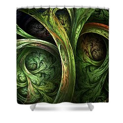 The Tree Of Life Shower Curtain by Olga Hamilton