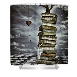 The Tree Of Love Shower Curtain