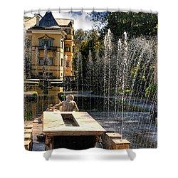 Trick Fountains Of Hellbrun  Shower Curtain