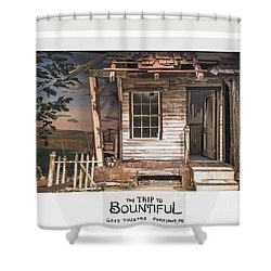 the Trip To Bountiful Shower Curtain