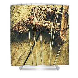 The Trojan Horse And Fall Of Troy Shower Curtain