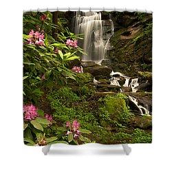 The Tropics Of North Carolina Shower Curtain