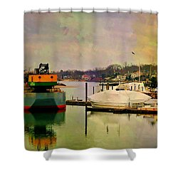 The Tug Boat Shower Curtain