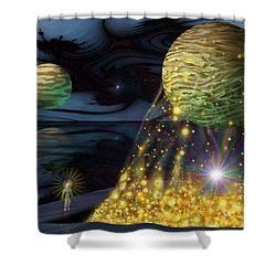 The Tutelary Guardian Shower Curtain
