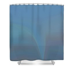 Shower Curtain featuring the painting The Twister by Dan Sproul