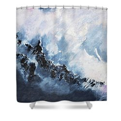 The Universe In Part 1 Shower Curtain