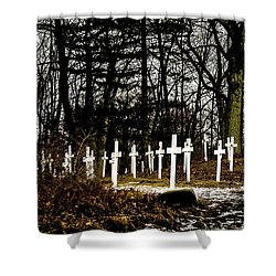 The Unknown Shower Curtain by Onyonet  Photo Studios