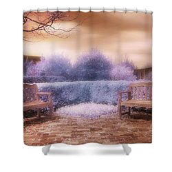 The Unseen Light Shower Curtain