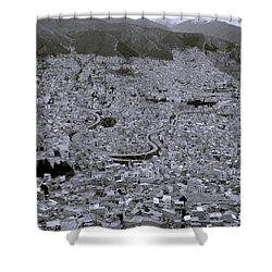 The Urban City Shower Curtain by Shaun Higson