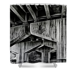 Shower Curtain featuring the photograph The Urban Jungle by Brad Allen Fine Art