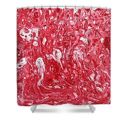 The Valentine's Day Massacre Shower Curtain