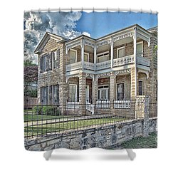 Van Der Stuken House Shower Curtain