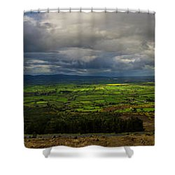 The Vee  Shower Curtain