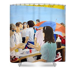 The Vendor Shower Curtain