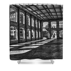 The Venue Bw Old Mill Wedding Venue Reedy River South Caroline Art Shower Curtain