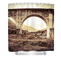 The Viaduct And The Loch Shower Curtain