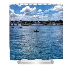 The Victorian Bridge Shower Curtain