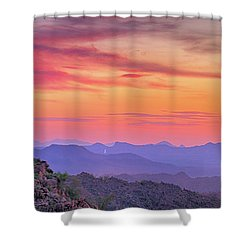 The View From Above Shower Curtain by Anthony Citro
