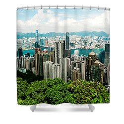 The View From The Peak Shower Curtain