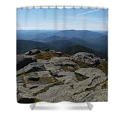 The View North From Mt. Marcy Shower Curtain