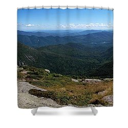 The View South From Mt. Marcy Shower Curtain