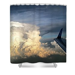 The #viewfrommywindow Of My #airplane Shower Curtain