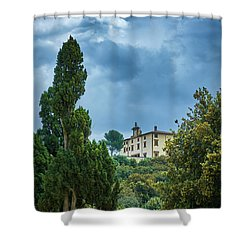 The Views From The Boboli Gardens Shower Curtain