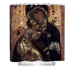 The Virgin Of Vladimir Shower Curtain