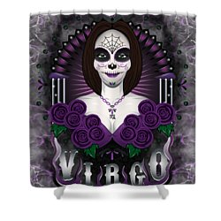 The Virgin Virgo Spirit Shower Curtain