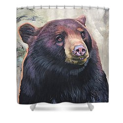 The Virtue Of Grace Shower Curtain