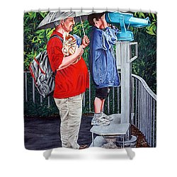 The Vision Shower Curtain