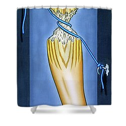 The Waiting Room Shower Curtain