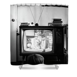 Phoenix Television Circa 1971 Shower Curtain