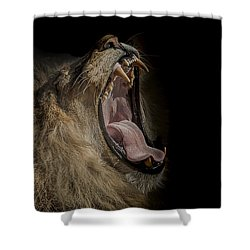 The War Cry Shower Curtain