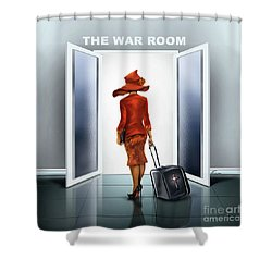 The War Room Shower Curtain