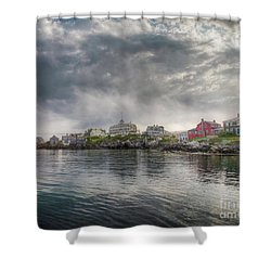 The Warf Shower Curtain