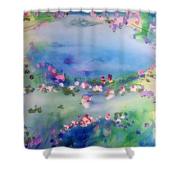The Warmth Of August Shower Curtain