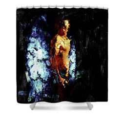 The Watcher Shower Curtain