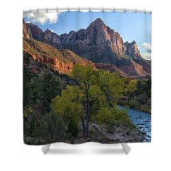 The Watchman And Virgin River Shower Curtain