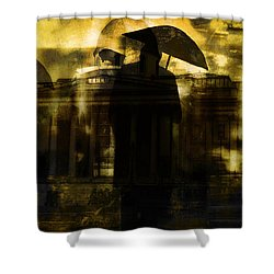 The Watchmen  Shower Curtain by Andrew Hunter