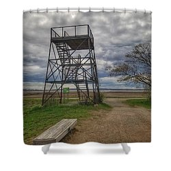 The Watchtower  Shower Curtain
